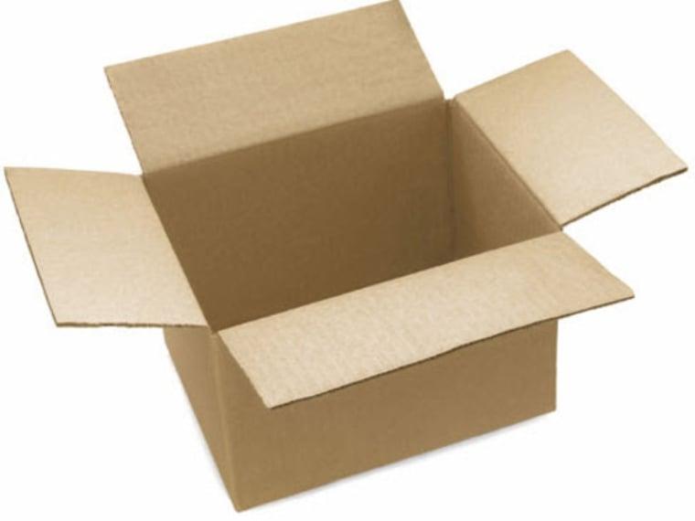 cajas de cartón con solapa