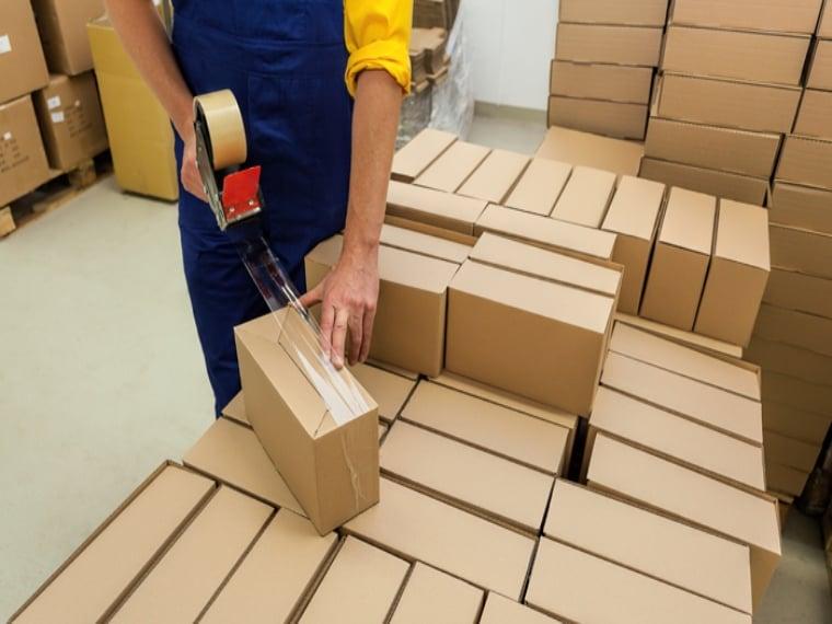 embalaje de productos