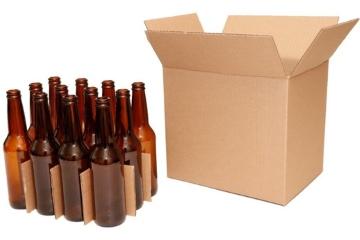 cajas para enviar botellas